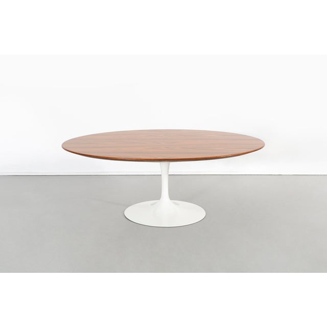 Knoll Eero Saarinen for Knoll Rosewood Coffee Table 50th Anniversary Edition For Sale - Image 4 of 9