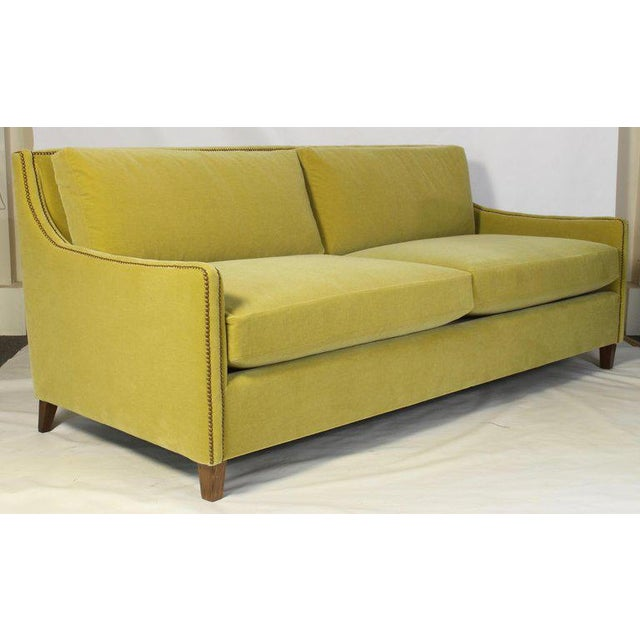 2010s Custom Made Deep Seated Sofa For Sale - Image 5 of 11