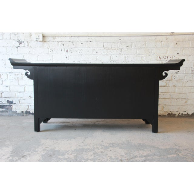 Michael Taylor for Baker Far East Collection Chinoiserie Sideboard Credenza For Sale - Image 11 of 13