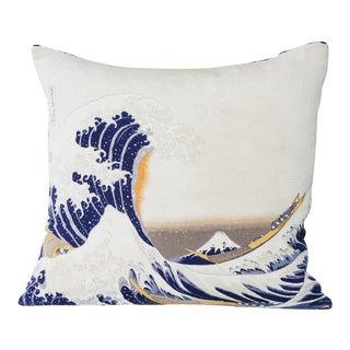 Japanese Silk Wave Pillow