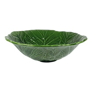 Vintage Mid-Century Modern California Pottery Salad / Serving Bowl For Sale