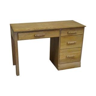 Brandt Ranch Oak Rustic Southwest Style Writing Desk (A) For Sale