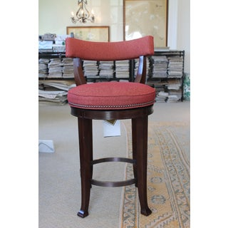 Curved Back Swivel Bar Stool Preview