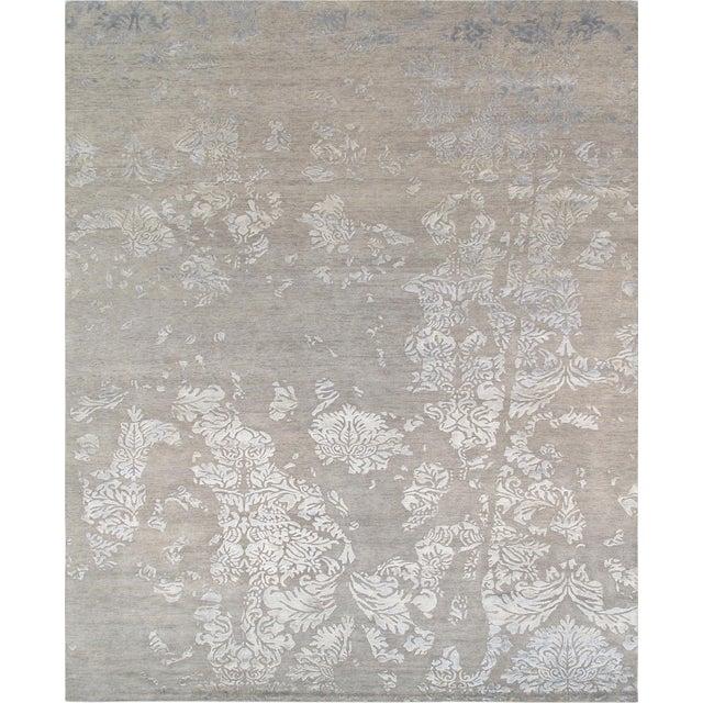 Pasargad Modern Silk & Wool Rug - 8′ × 9′8″ - Image 1 of 3