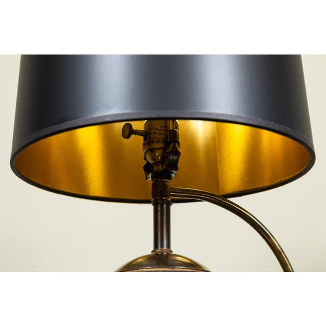 Mid-Century Globe Lamp For Sale - Image 4 of 6