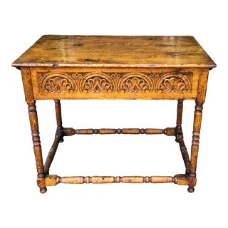 Charles & Charles Jacobean Style Bible Box Table For Sale