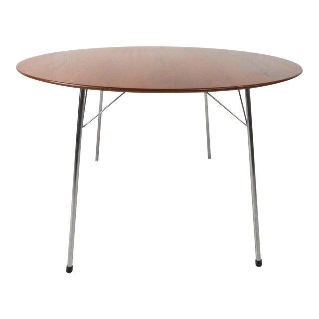 Mid-century Modern Teak Dining Table by Arne Jacobsen for Fritz Hansen - Image 1 of 7