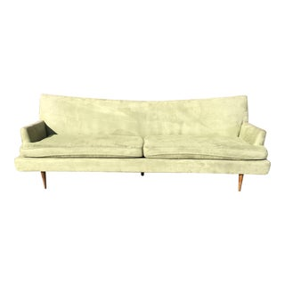 Paul McCobb Citrine Green Pagoda Sofa