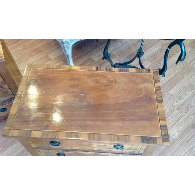 Pair of Italian Chair Side Chests For Sale - Image 11 of 13