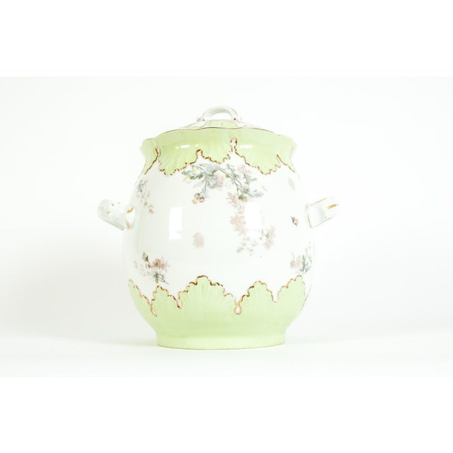 Large Austrian Porcelain Covered Piece For Sale - Image 12 of 12