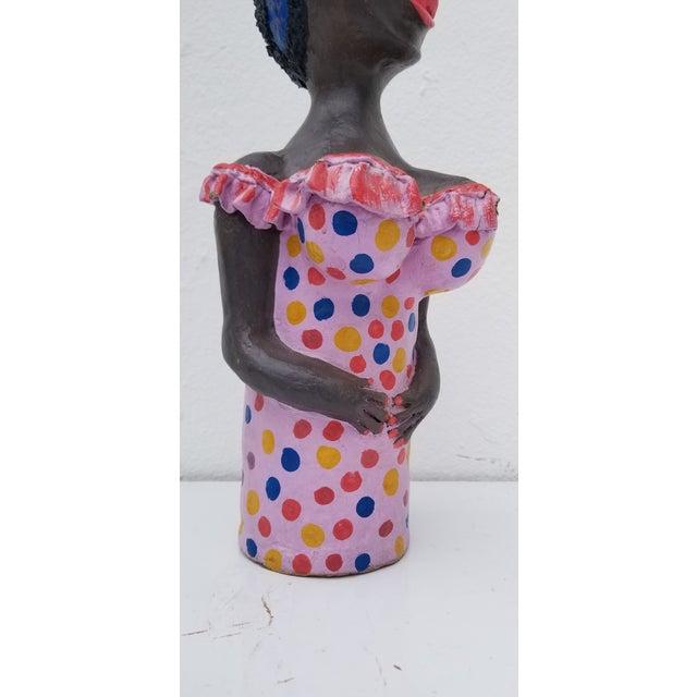 1980s Brazilian Female Sculpture For Sale In Miami - Image 6 of 13