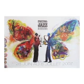 2007 International Montreal Jazz Festival Poster