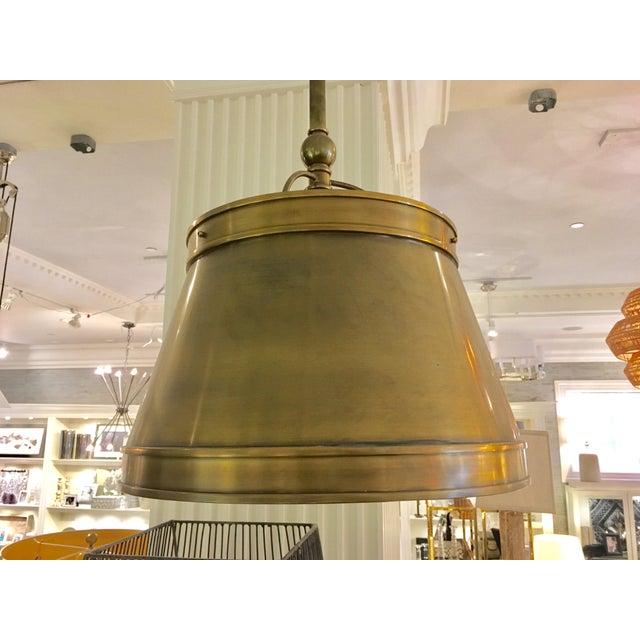 Visual Comfort Brass Hanging Shade Pendant-New - Image 5 of 6