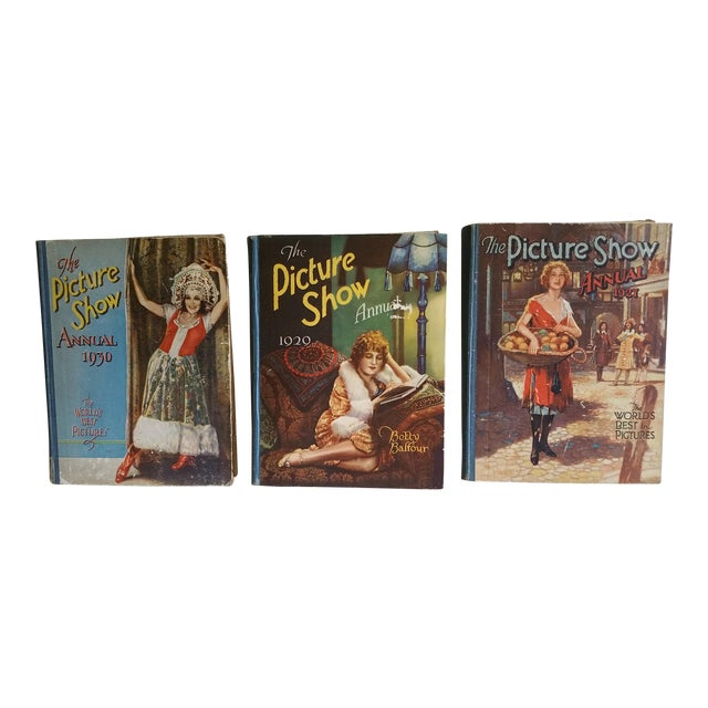 1930's Movie Books - Set of 3 For Sale