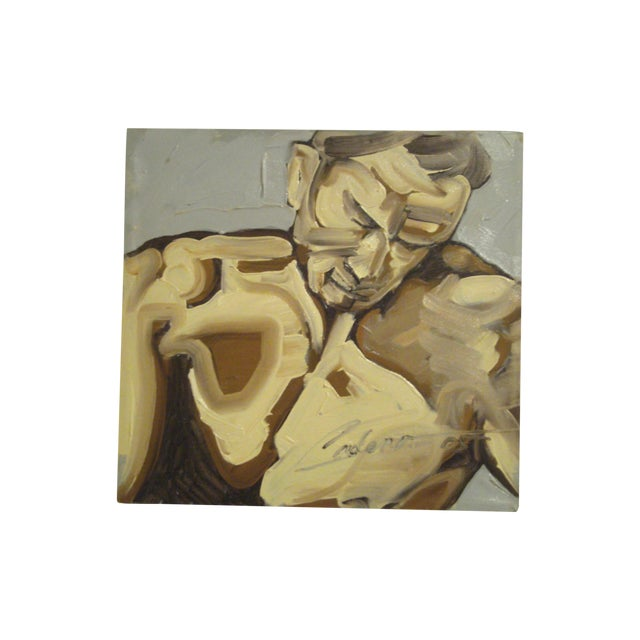 Original Figural Painting - Image 1 of 7