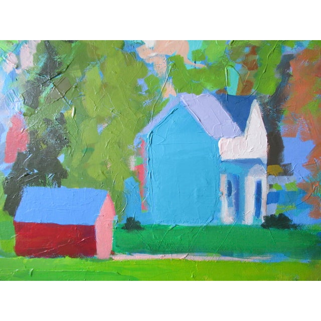 Abstract Vermont by Anne Carrozza Remick For Sale - Image 3 of 6
