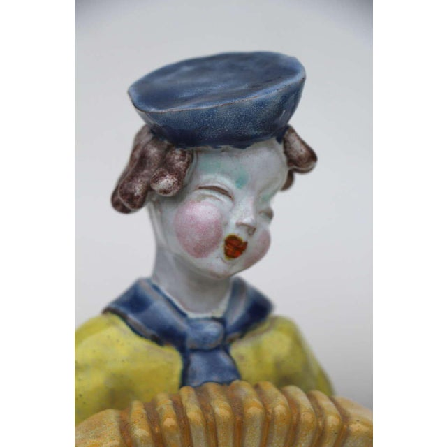 Folk Art Figures by Hungarian Maria Rahmer- A Pair For Sale - Image 3 of 9