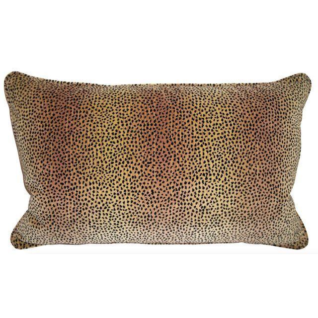 Kravet Baby Cheetah Velvet Pillows - A Pair - Image 2 of 4