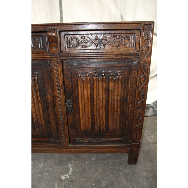Brass 18th Century French Neoclassical Buffet/Sideboard For Sale - Image 7 of 12