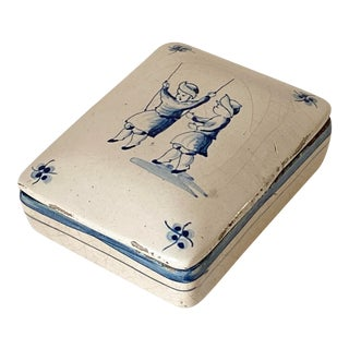 Italian Painted Box For Sale