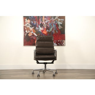Charles and Ray Eames for Herman Miller Soft Pad Executive Desk Chair, Near Mint Preview
