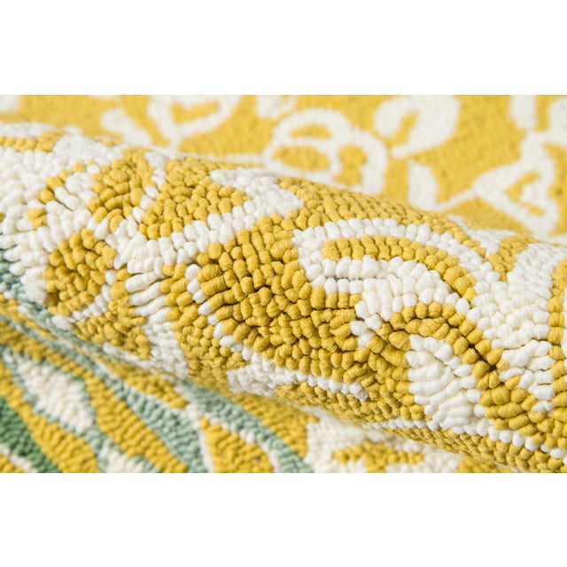 Madcap Cottage Under a Loggia Rokeby Road Yellow Indoor/Outdoor Area Rug 2' X 3' For Sale - Image 4 of 7