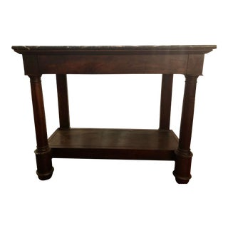 French Empire Country Console For Sale