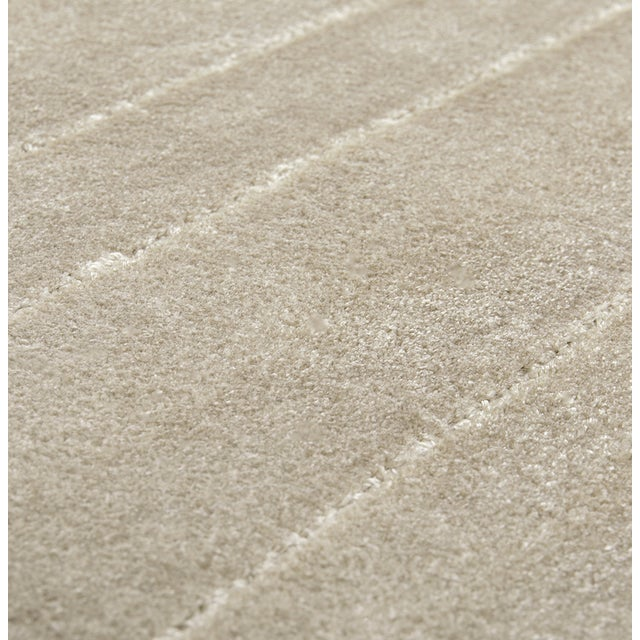 White Garden Neutral Rug From Covet Paris For Sale - Image 6 of 7