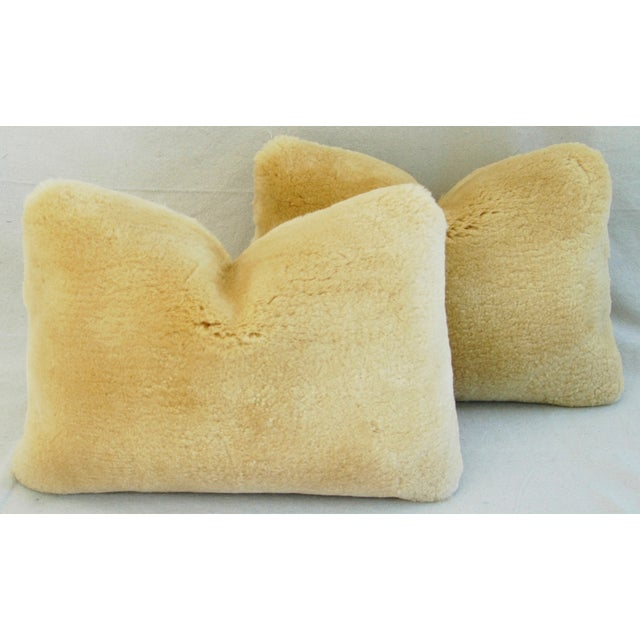 Pierre Frey Plush Lambswool Pillows - A Pair - Image 6 of 10