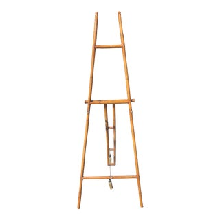 Victorian Bamboo Easel For Sale