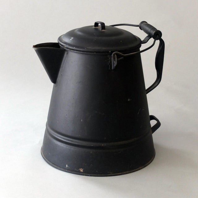 Vintage Sarreid Ltd Tin Hot Water Pot - Image 2 of 2