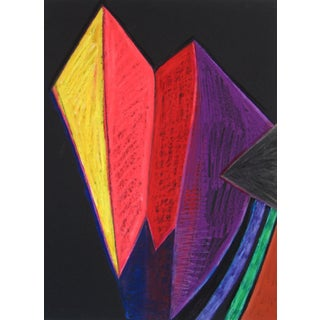 Bright 20th Century Abstract Drawing