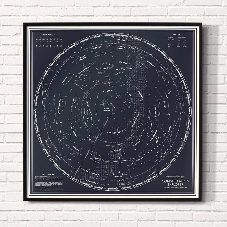 astronomy star charts constellations - 750×750