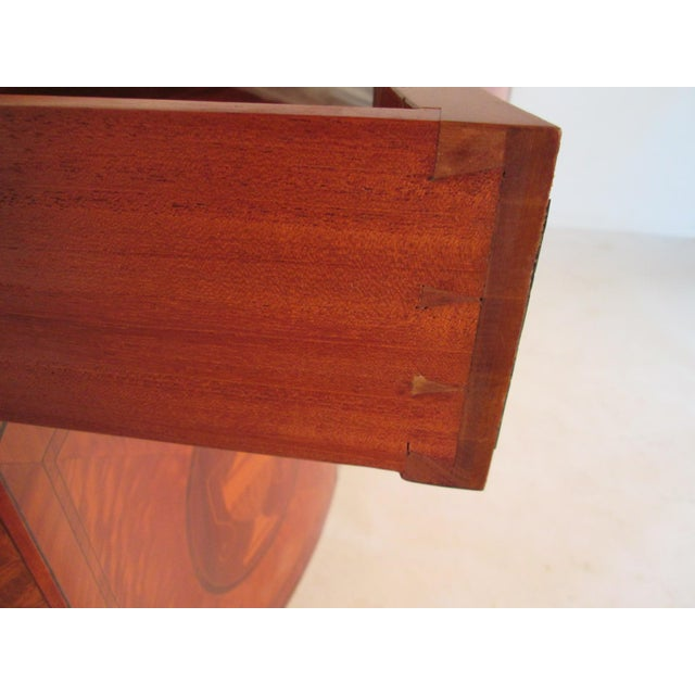 Schmieg & Kotzian 1940s Vintage Schmieg and Kotzian Satinwood Chest For Sale - Image 4 of 12