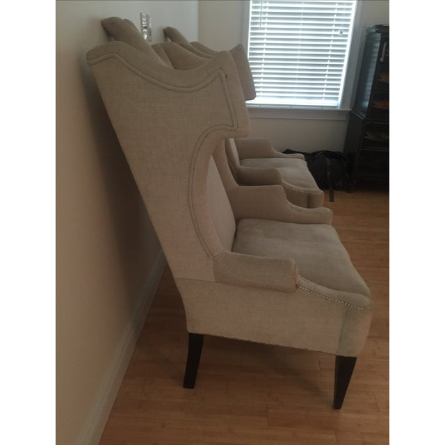 2010s Andrew Martin Beetle-Back Chairs For Sale - Image 5 of 5