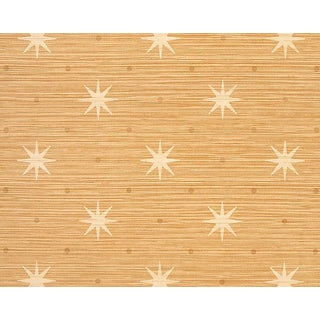 Hinson for the House of Scalamandre Big Trixie Wallpaper in Rattan For Sale