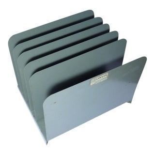 Retro Green File Organizer For Sale