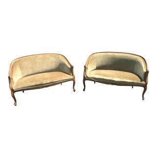 Fratelli Boffi Italian Settees - a Pair For Sale