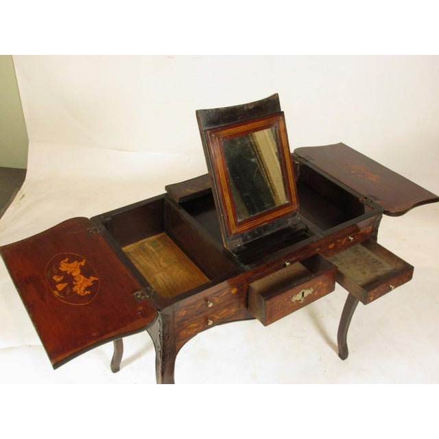 19th Century French Marquetry Podruse For Sale In Boston - Image 6 of 13