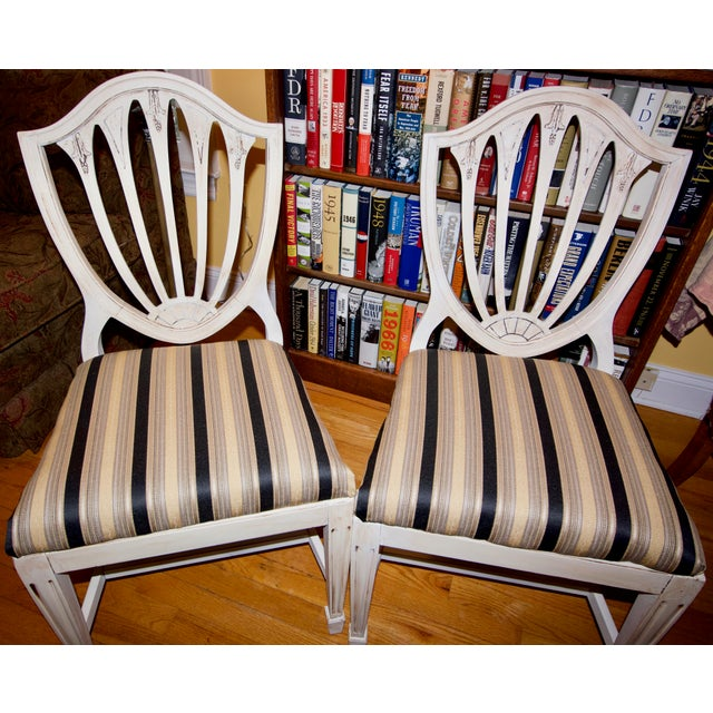 Vintage 1940s Accent Chairs - a Pair For Sale - Image 11 of 11