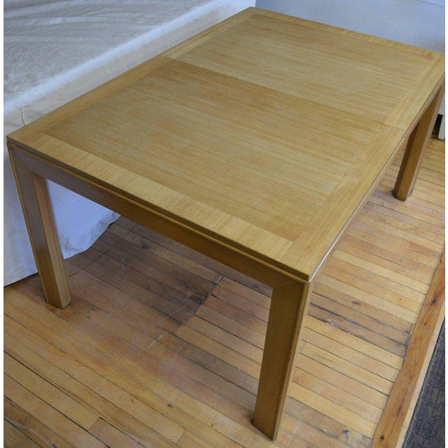 Brown Dining Table With Two Leaves Designed by Robsjohn-Gibbings for Widdicomb For Sale - Image 8 of 13