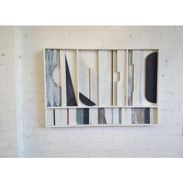 Abstract Wall Sculpture Frieze Panel by Paul Marra For Sale - Image 3 of 8