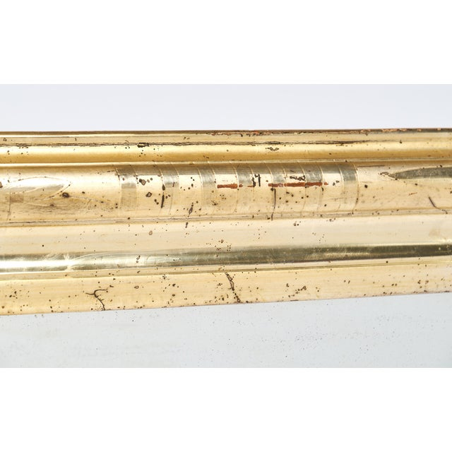 19th Century Antique French Gold Leaf Mirror For Sale - Image 10 of 10