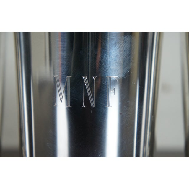 Metal Sterling Silver Mark J Scearce Presidential Mint Julep Cups Richard Nixon Rmn - Set of 3 For Sale - Image 7 of 13