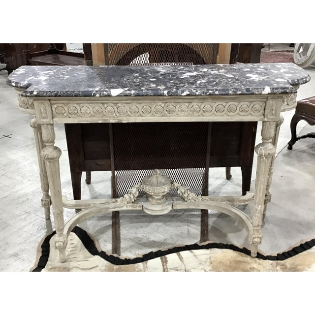 19th Century Louis XVI Style Console Table For Sale - Image 12 of 12