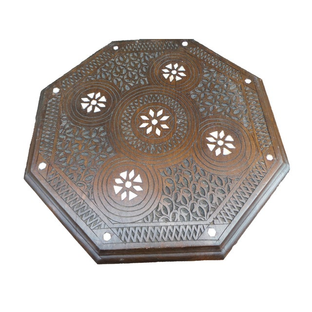Syrian Boho Chic Side Table - Image 2 of 3