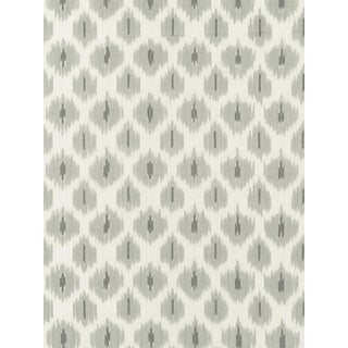 Scalamandre Amara Ikat Weave, Stone Fabric For Sale