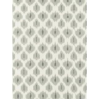 Scalamandre Amara Ikat Weave, Stone Fabric For Sale