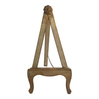 20th Century Italian Florentine Wooden Table Easel For Sale