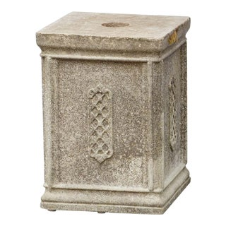 English Garden Stone Pedestals For Sale